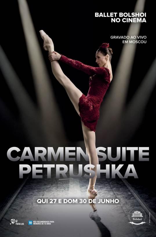 BALLET BOLSHOI 2018/19: CARMEN SUITE / PETROUCHKA