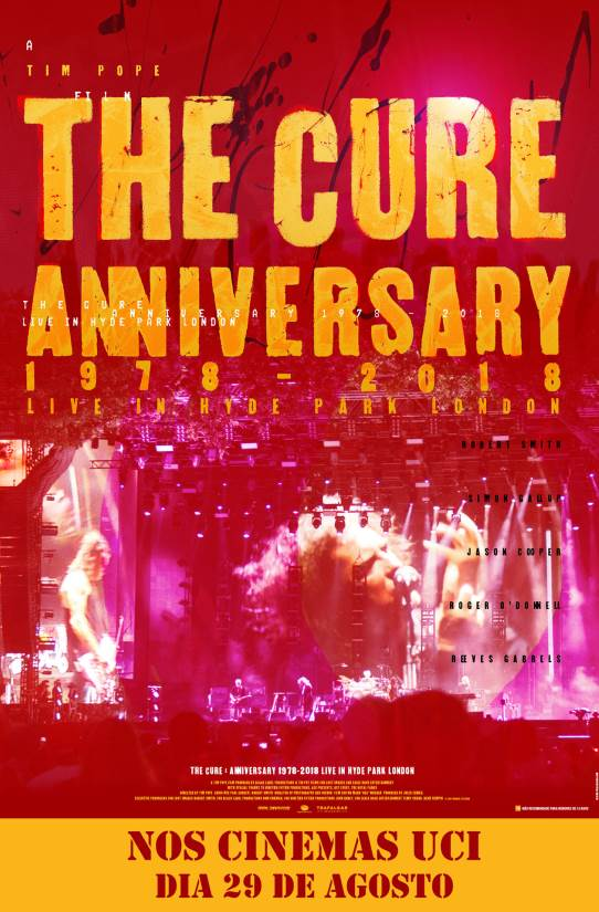 THE CURE - ANNIVERSARY LIVE IN HYDE PARK